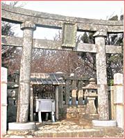 スポット1 御神廟(ごしんびょう)