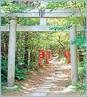 スポット1 湯神社(ゆじんじゃ)